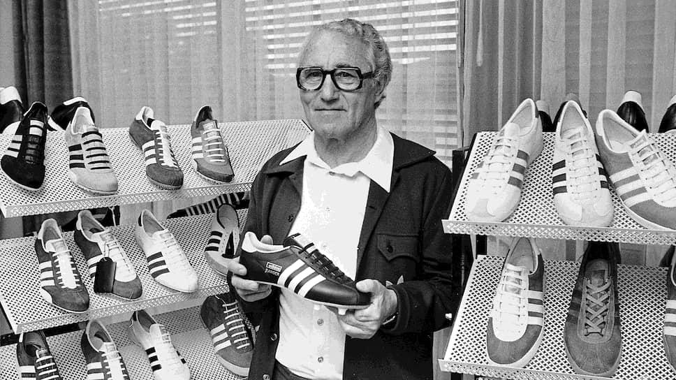 Основатель компании Adidas Адольф Дасслер