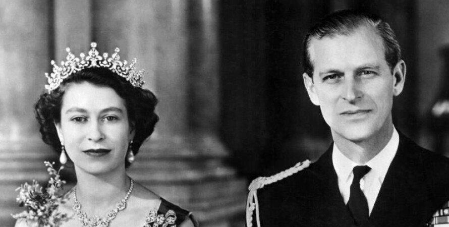 Принц Филлип и королева Елизавета