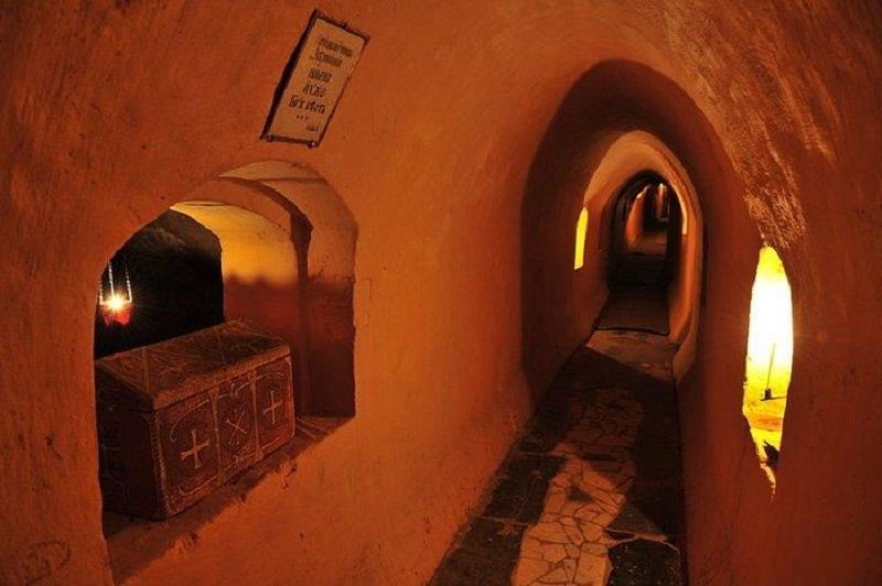 Подземелья Киево-Печерской Лавры