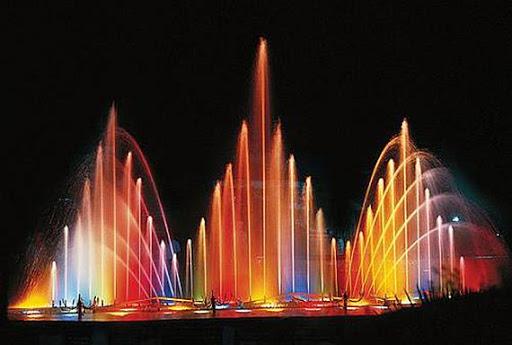 Поющий фонтан в Виннице